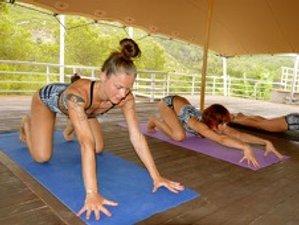 5 Day New Year Rainbow Jamboree Yoga Holiday in Port de Sant Miguel, Ibiza