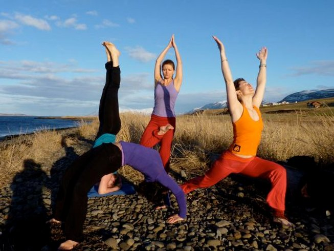 6 Days Summer Solstice Yoga Retreat in Iceland