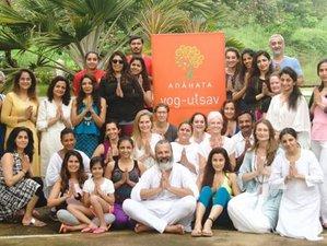 4 jours en stage de yoga, apprentissage et guérison avec Anahata Yog Utsav près de Pune, Inde