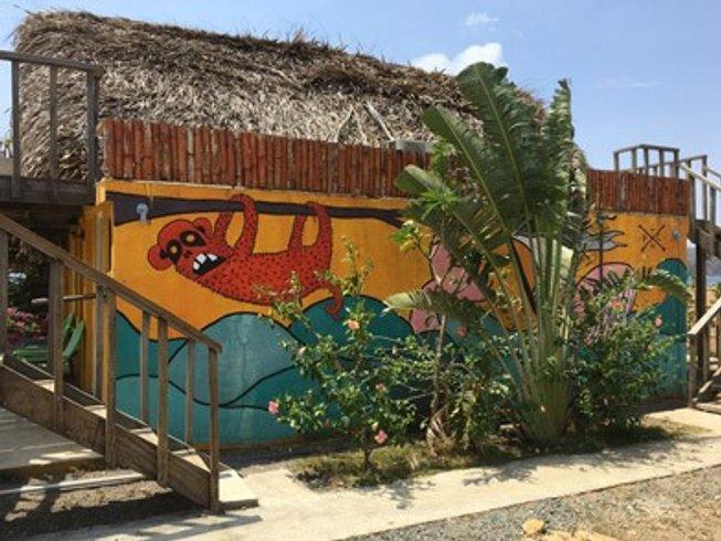 7-Daagse Surfkamp, Meditatie en Yoga Retraite in Los Santos, Panama