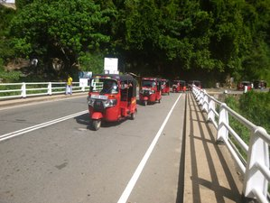 4 Day Guided Off Road Tuk Tuk Tour in Sri Lanka