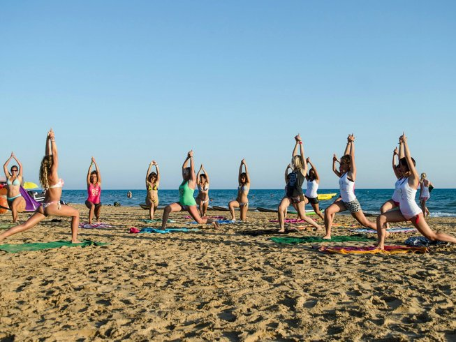 2 Days Weekend Yoga, Kitesurf, Surf, & SUP in Italy