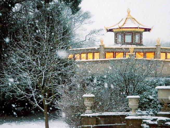 Image result for winter meditation retreats