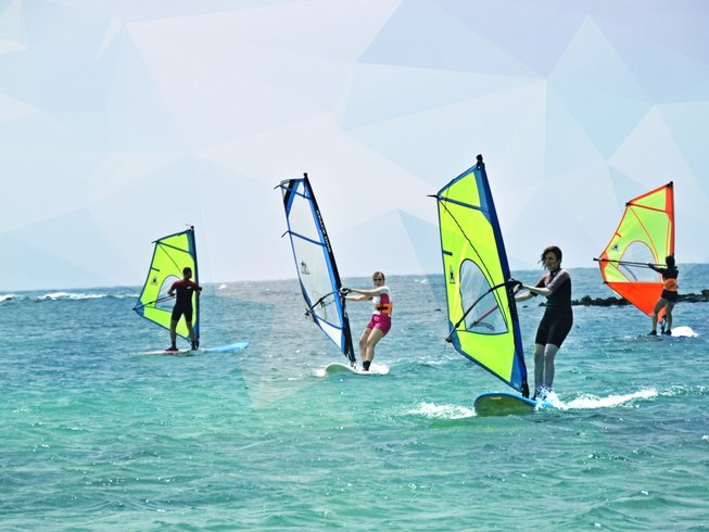 8 Days Windsurf, Surf, and Yoga Retreat in Fuerteventura, Spain