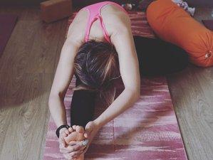 4 jours de stage de yoga et thérapie dans une villa au bord du lac de Sanguinet, Landes, France