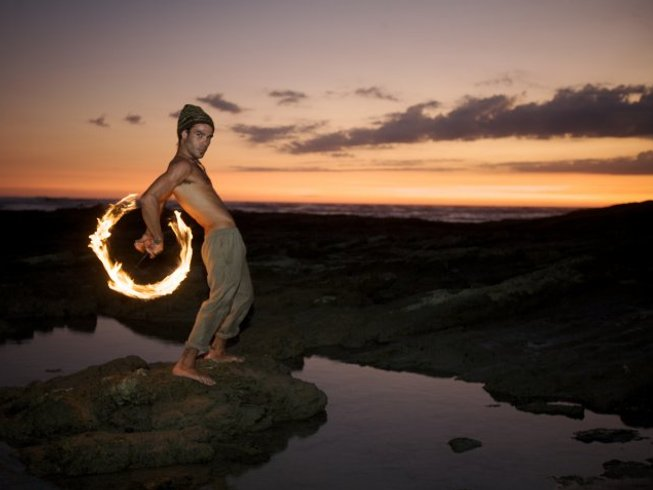 28 Days Fire Dance and Yoga Retreat in Costa Rica