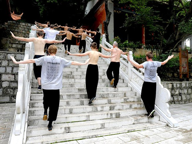 3 Years Kung Fu Training in Mile, China
