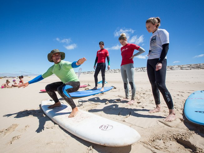 8 Days Budget Surf and Yoga Retreat in Colares, Portugal