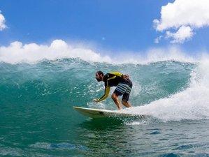 5 Tage Mini Surf und Yoga Urlaub für Alle Niveaus im Atemberaubenden Playa Guasacate, Nicaragua