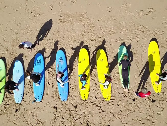 8 Days Energetic Surf and SUP Camp Lisbon, Portugal