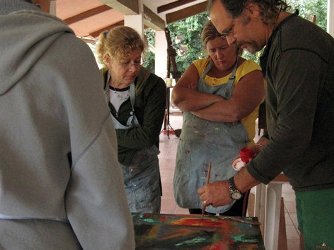 8 Days Art and New Year Yoga Retreat in Mexico