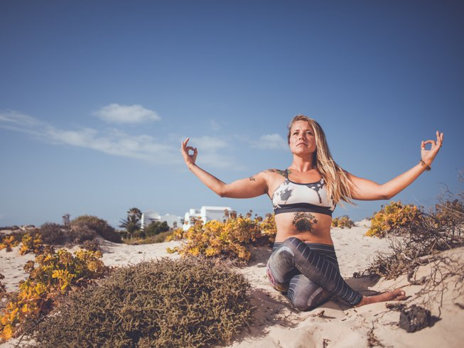 8 Days Christmas and New Year Yoga Holiday in Fuerteventura, Spain