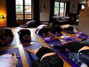 5 jours en immersion dans le monde du yoga avec randonnées à Chamonix, Alpes