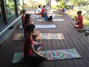 7 jours en stage de yoga, chakras, randonnée et nature à Pitoes das Junias, Vila Real