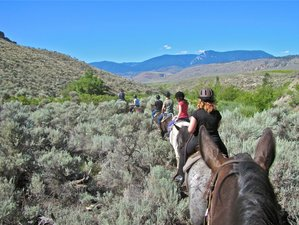 4 Days Horse Riding and Guest Ranch Vacation in British Columbia, Canada