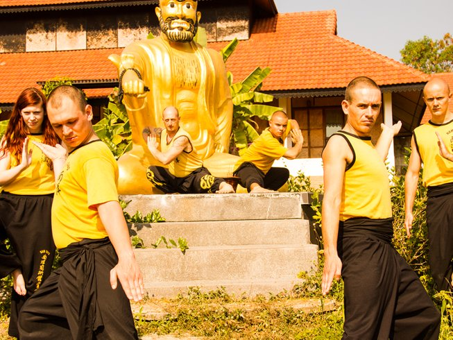 2 Weeks Shaolin Kungfu Experience in Thailand