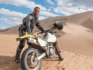 9 Day Gobi Warriors Guided Motorcycle Tour in Mongolia