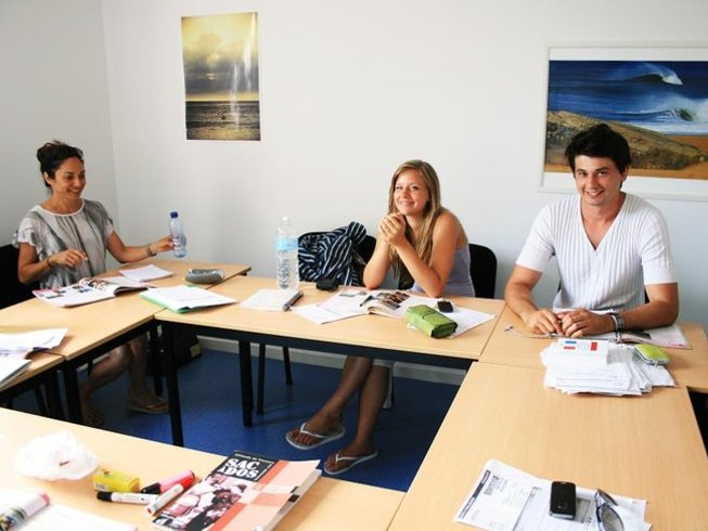 56 Days French Lesson and Surf Camp in Anglet, Nouvelle-Aquitaine, France