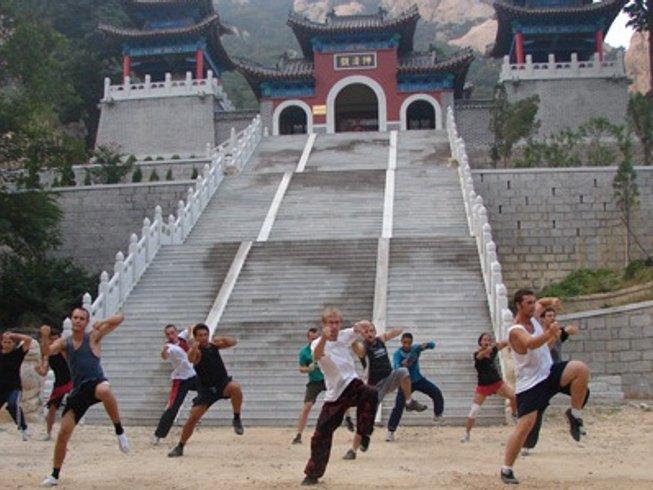 1 Year Kung Fu Training in Kunyu Mountains, Shandong