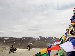 10 Day Nubra Valley Guided Motorcycle Tour in Ladakh, Himalayas