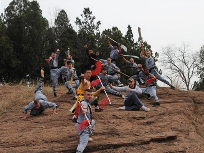 2 Years Kung Fu and Chinese Culture in Handan, China