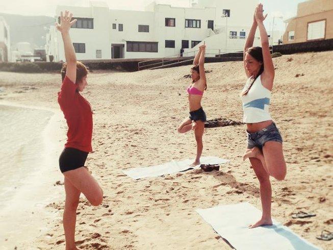 8 Tage Kitesurfen und Yoga Urlaub in Spanien