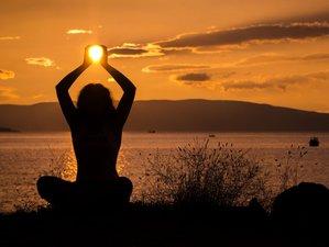 7 jours en croisière de yoga vinyasa et stage de voile autour des îles de la Bretagne du sud
