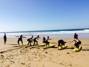 8 Days Pro Surf Coaching Level 1 & 2 Surf Camp Agadir, Morocco
