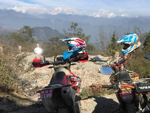 3 Day Extreme Guided Motorcycle Tour on Dirt Bikes in Nepal