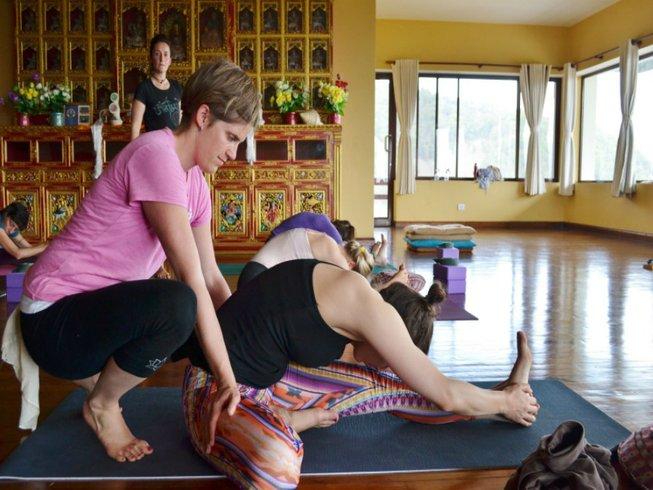 27 Days 200hr Vinyasa Yoga Teacher Training in Nepal
