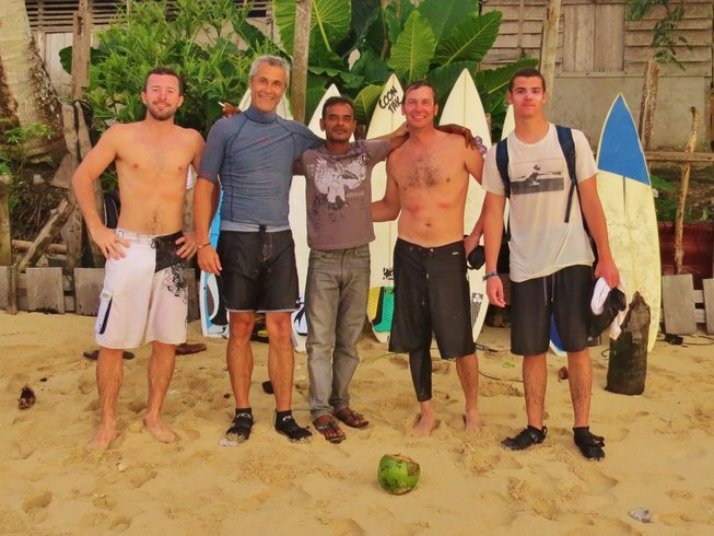 6 Days Surf Camp in Indonesia