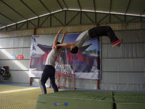 7 Month Shaolin Kung Fu and Sanda Training in Tengzhou, Shandong