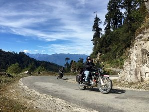 16 Days Adventurous Dragon Motorcycle Tour from Nepal to Bhutan