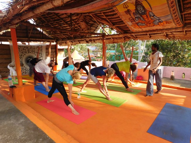 15 Days Yoga Sādhana Yātrā Travel Retreat in India