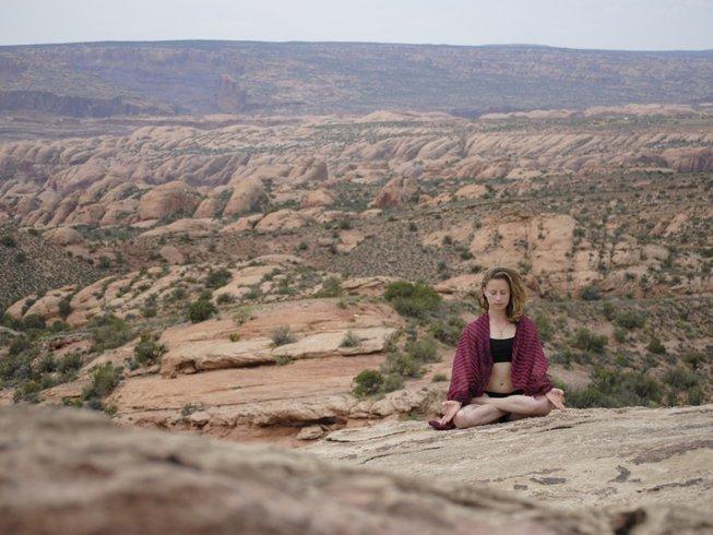 5 Tage Redrock Yoga Urlaub für Frauen in Utah, USA