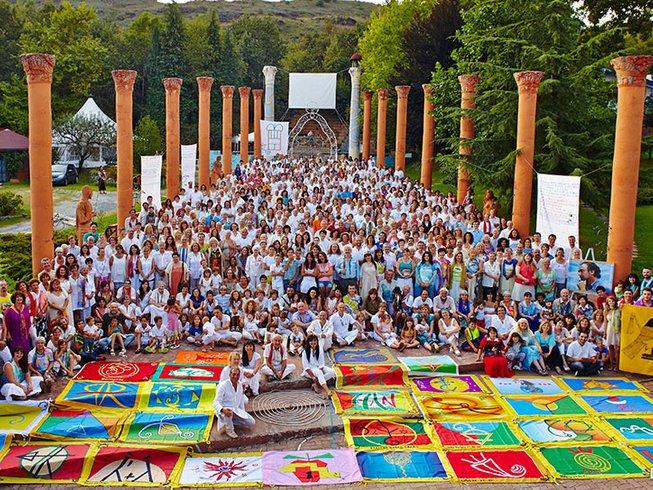 7 Days Damanhur Community and Spiritual Yoga Retreat in Piedmont, Italy
