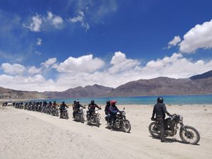 10 Day Manali to Ladakh Guided Motorcycle Tour in India