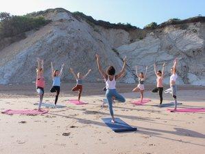 6 jours en stage de yoga vinyasa, surf et nature pour femmes à Biarritz, Pays Basque