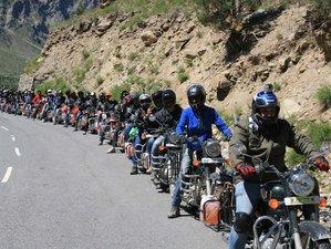 13 Day Delhi Loop Trans-Himalayan Cultural Guided Motorcycle Tour via Khardung-La Pass