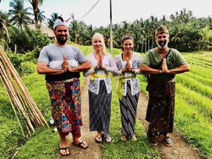 12 Day Soul Nourishing 'Eat, Pray, Love' Cultural and Yoga Self-Care Spa Holiday in Bali, Indonesia