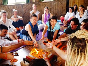 28 Days 300hr Yoga Teacher Training in Rishikesh