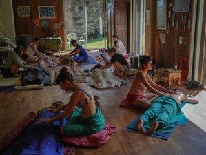 5 jours en stage de yoga, ayurveda et herboristerie dans la Drôme au pied du Vercors