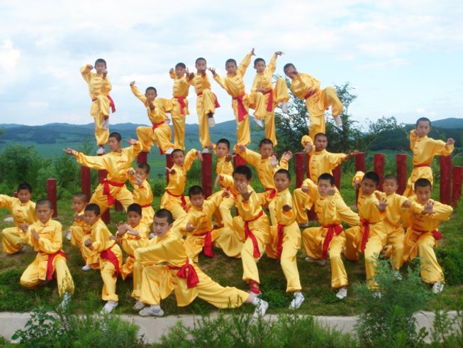 1 Year Traditional Shaolin Kung Fu Training in China