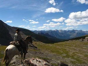 7 Day The Great Divide Back Country Horse Riding Holiday in Alberta
