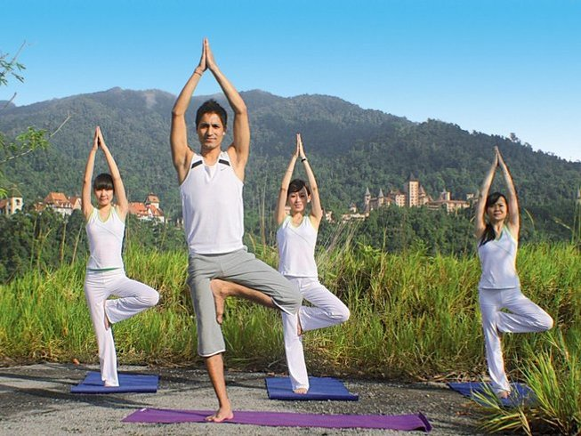 3-Daagse Stress Opluchting Yoga Retraite in Maleisië