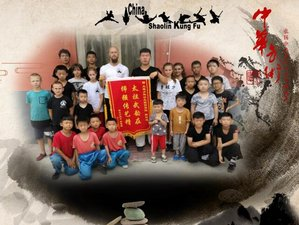 2-Month Shaolin Kung Fu Training with monks in Handan (The birthplace of Taichi), Hebei Province