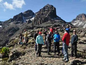 4 Days Trekking in Mount Kenya