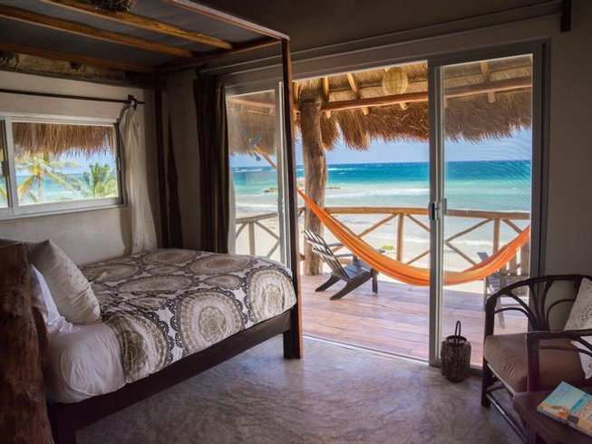7 días retiro de yoga en la playa de Tulum, México