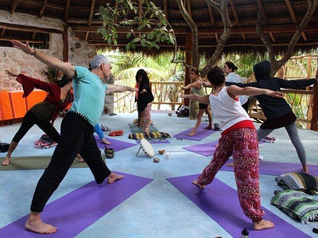 6-Daagse Yoga Retraite in Tulum, Mexico