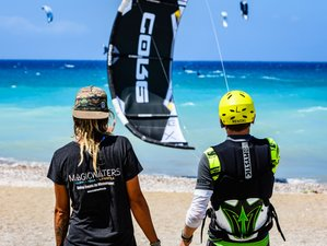 8 Tage Magicwaters Kitesurf Camp und Yoga Retreat in Theologos, Rhodos, Griechenland